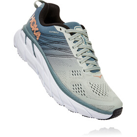 Hoka One One Clifton 6 Shoes Women lead/sea foam